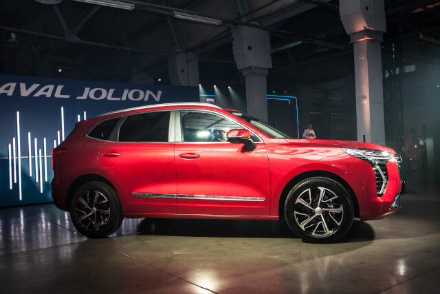 Haval Jolion: 1 189 000 рублей, два мотора, 4WD Haldex