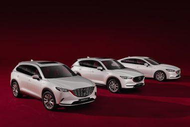 Mazda начала предлагать в России автомобили в юбилейной комплектации