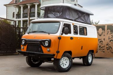 УАЗ начнет продавать крутую «Буханку»-кемпер в России