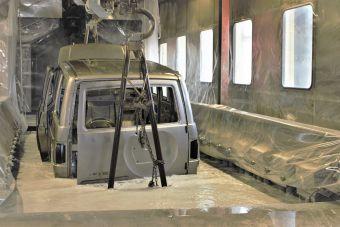 Производство легковых и грузовых авто значительно выросло.