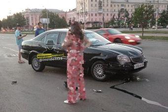 В Барнауле в ДТП пострадала редчайшая Волга ГАЗ-3111 (ФОТО)
