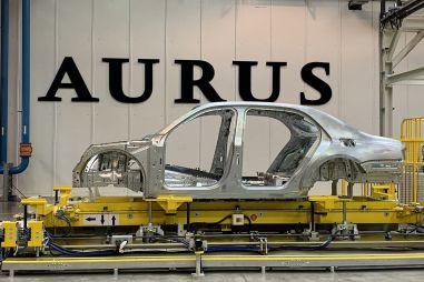 Стартовало серийное производство автомобилей Aurus (ФОТО)