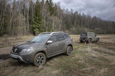Renault Duster против Suzuki Jimny. Столкновение противоположностей