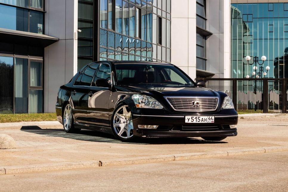 16-летний Lexus LX430: покупка и расходы