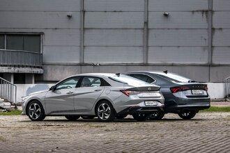 Старая клетка — гранeная таблетка. Skoda Octavia против Hyundai Elantra36