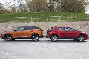 Peugeot 2008 против Toyota C-HR. Цена оригинальности