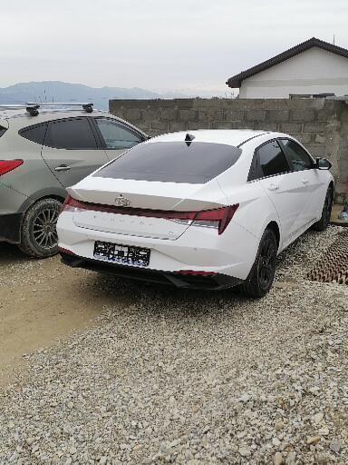 Hyundai Elantra 2021 - отзыв владельца