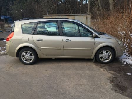 Renault Grand Scenic 2008 - отзыв владельца