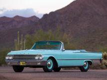 Ford Galaxie рестайлинг 1960, открытый кузов, 2 поколение