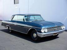 Ford Galaxie 2-й рестайлинг 1961, купе, 2 поколение