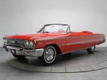 Ford Galaxie 3-й рестайлинг 1962, открытый кузов, 2 поколение