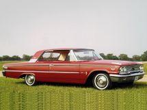 Ford Galaxie 3-й рестайлинг 1962, купе, 2 поколение