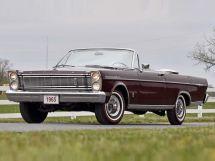 Ford Galaxie 1964, открытый кузов, 3 поколение