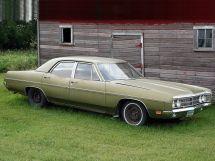 Ford Galaxie рестайлинг 1969, седан, 4 поколение