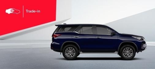 Toyota Fortuner : возможная выгода при покупке в Trade‑in 100 000 рублей