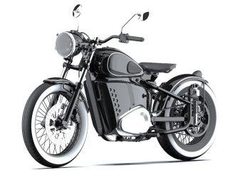 «Калашников» запатентовал дизайн электромотоцикла в стиле ретро