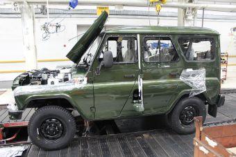 Работники УАЗа украли с завода запчастей на 1 млн рублей
