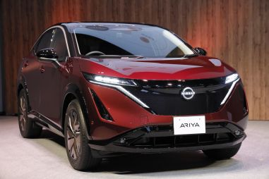 Nissan начал продавать долгожданный электрический кроссовер Ariya