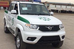 Фотофакт: УАЗ Пикап начал служить в полиции Ирана