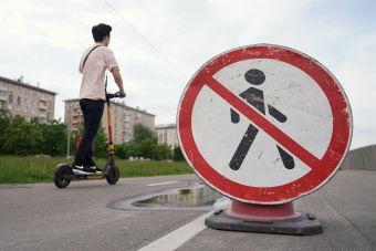 Минтранс планирует запретить на тротуарах тяжелые электросамокаты