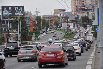 За пять лет число машин в России увеличилось на пять миллионов