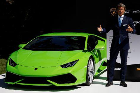 Lamborghini фиксирует бешеный спрос на свою продукцию