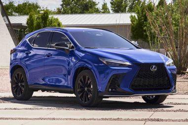Новый NX стал первым подзаряжаемым гибридом в истории Lexus