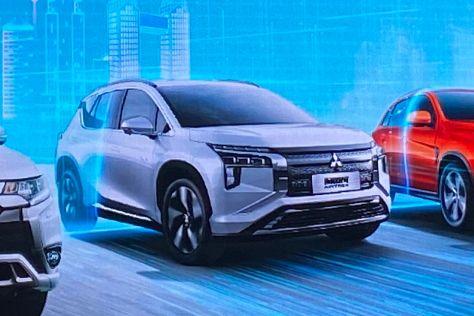 Mitsubishi возродит имя Airtrek для нового электромобиля (первые ФОТО)
