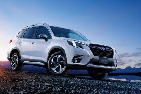 Subaru освежила Форестеру дизайн
