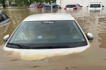 На востоке Крыма ввели режим ЧС из-за наводнения (ВИДЕО)