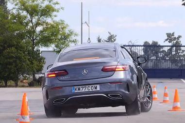 ВИДЕО: Mercedes-Benz E-Class прошел «лосиный тест» лучше флагманского S-Class