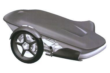 Мотоцикл Aurus Merlon будут выпускать и в варианте с коляской