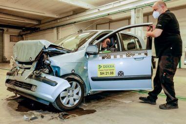 В Европе провели краш-тест 18-летнего Hyundai Getz: результаты удивили