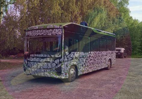 ГАЗ готовит новый электробус среднего класса (первое ФОТО)
