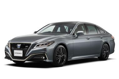 Toyota представила две спецверсии Crown