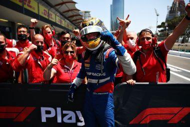 Формула 2: хаос на улицах Баку