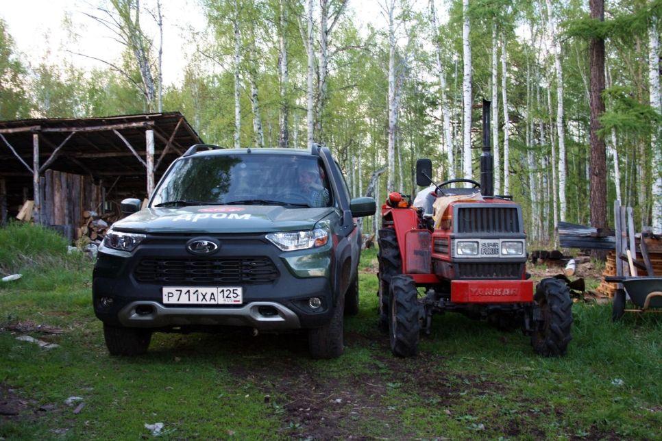 Блог Lada Niva Travel. Тест фермера и музыканта