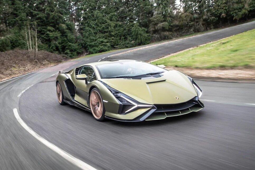 Lamborghini Sian — гибрид без аккумулятора. Что? Да!1
