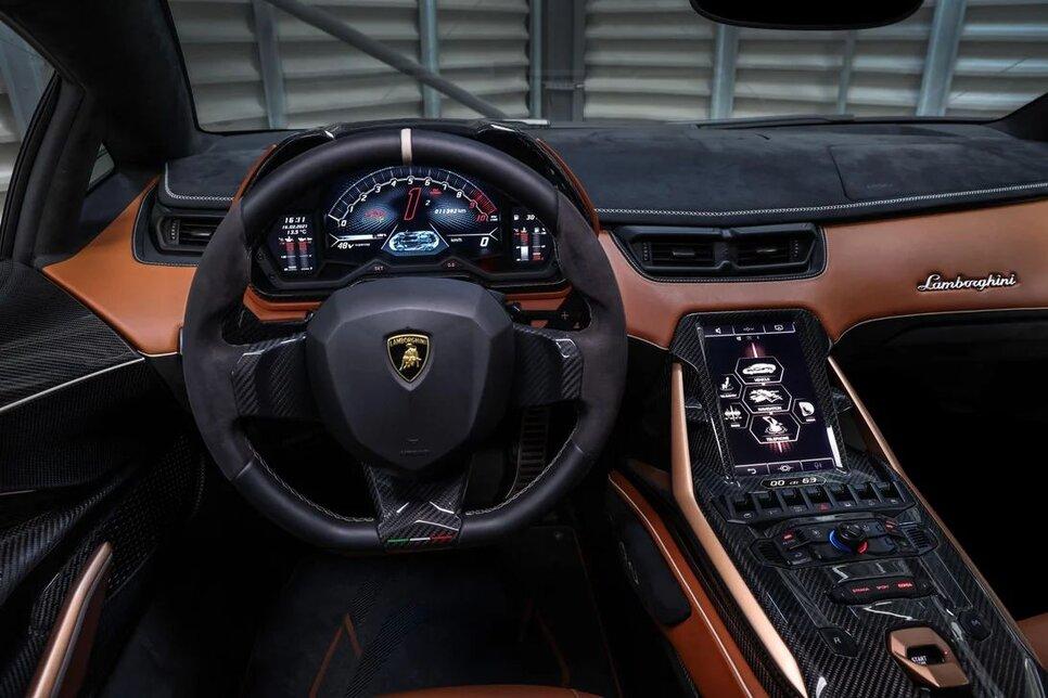 Lamborghini Sian — гибрид без аккумулятора. Что? Да!4