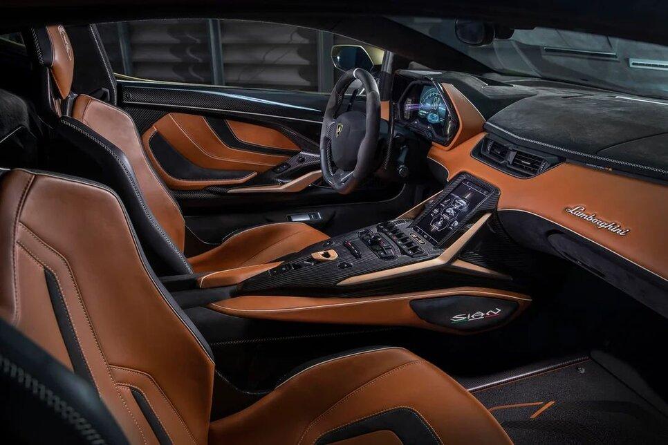 Lamborghini Sian — гибрид без аккумулятора. Что? Да!15