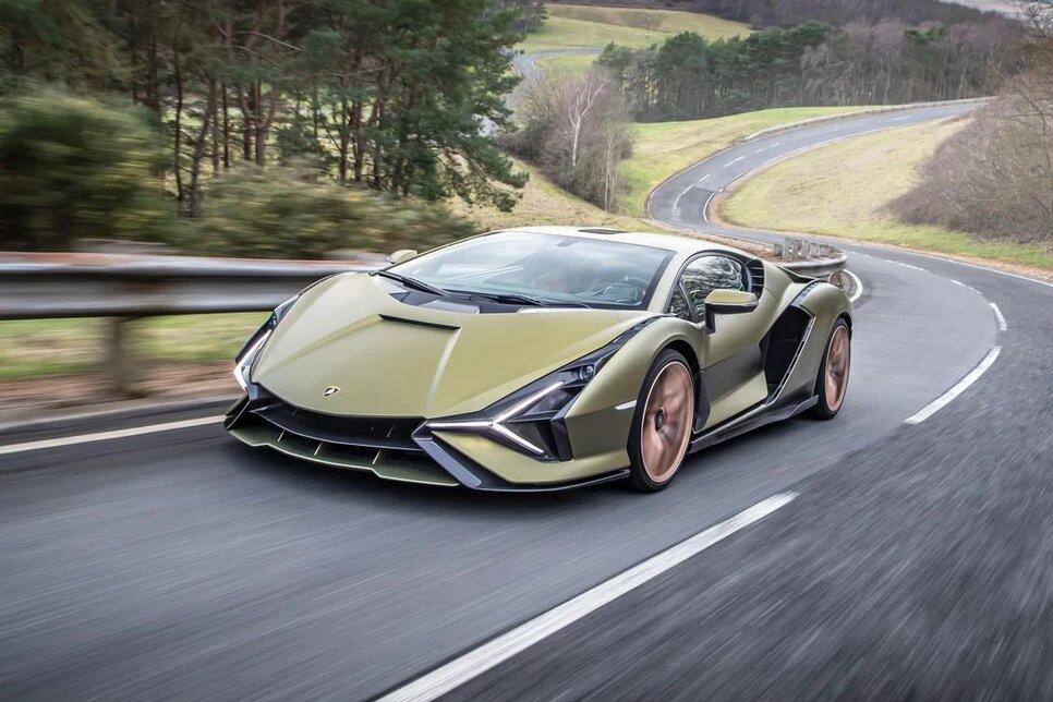 Lamborghini Sian — гибрид без аккумулятора. Что? Да!0