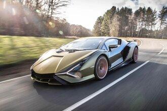 Lamborghini Sian — гибрид без аккумулятора. Что? Да!26