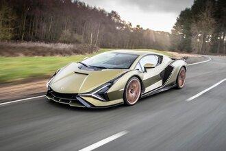 Lamborghini Sian — гибрид без аккумулятора. Что? Да!27