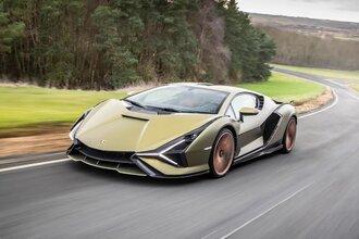 Lamborghini Sian — гибрид без аккумулятора. Что? Да!28