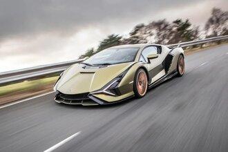 Lamborghini Sian — гибрид без аккумулятора. Что? Да!29