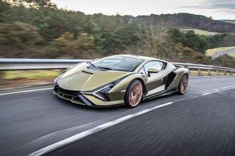Lamborghini Sian — гибрид без аккумулятора. Что? Да!31