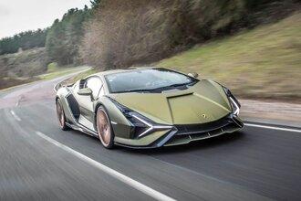 Lamborghini Sian — гибрид без аккумулятора. Что? Да!32