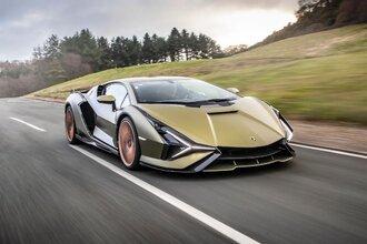 Lamborghini Sian — гибрид без аккумулятора. Что? Да!33