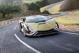 Lamborghini Sian — гибрид без аккумулятора. Что? Да!34