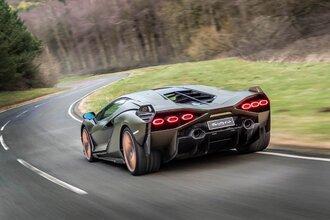 Lamborghini Sian — гибрид без аккумулятора. Что? Да!36